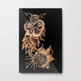 Flor Metal Print