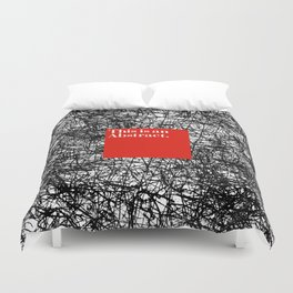 ABSTRACT CERTIFIED Duvet Cover