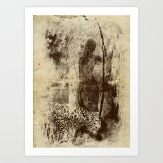 paleo warrior Art Print