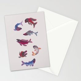 Salmon Stationery Cards