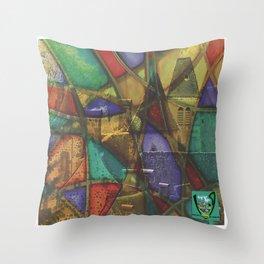 Saint-Vincent de Salers Throw Pillow
