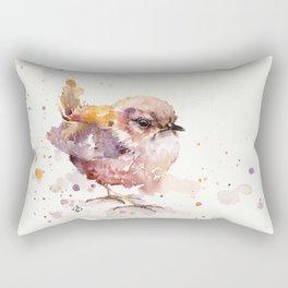 Fluffy Le Wren Rectangular Pillow