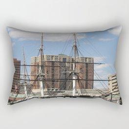 USS Constellation Rectangular Pillow
