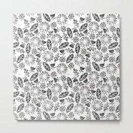 Folium Pattern I Metal Print