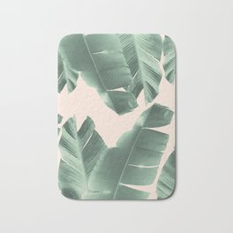 Banana Leaves Tropical Vibes #2 #foliage #decor #art #society6 Bath Mat