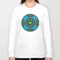 flower pattern Long Sleeve T-shirts featuring Flower Pattern by Lyle Hatch