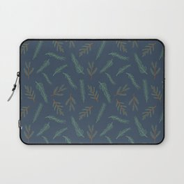 A Walk In The Pine Forest Pattern Laptop Sleeve