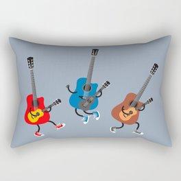 Dancing guitars Rectangular Pillow