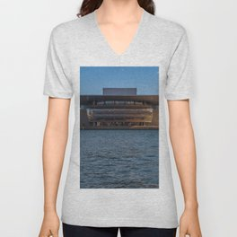 Copenhagen Opera House Unisex V-Neck
