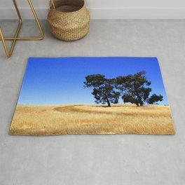 Australian Rural Landscape Rug