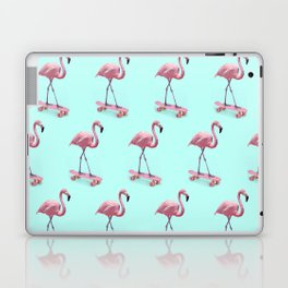Skating Flamingo Laptop & iPad Skin