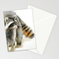 Raccoon 2 Stationery Cards