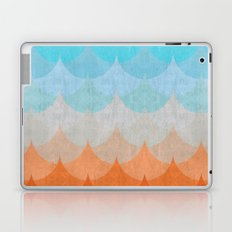 Colorful minimalist waves II Laptop & iPad Skin