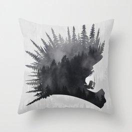 MTB Punk Throw Pillow