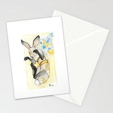 Glowing Jackrabbit Stationery Cards