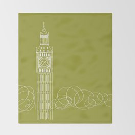 London by Friztin Throw Blanket