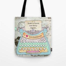 Typewriter #4 Tote Bag