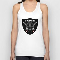sport Tank Tops featuring Vader sport logo by Buby87