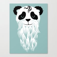 Panda Beard Canvas Print