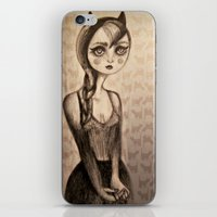 catwoman iPhone & iPod Skins featuring Catwoman by Anna Kavehmehr