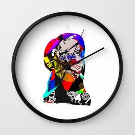 Mask Transformation Wall Clock