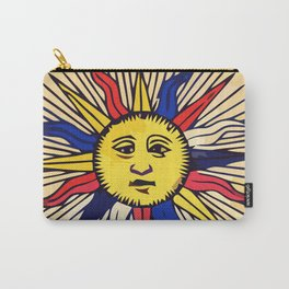 Le soleil Tarot card design Carry-All Pouch