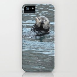 Sea Otter Fellow iPhone Case