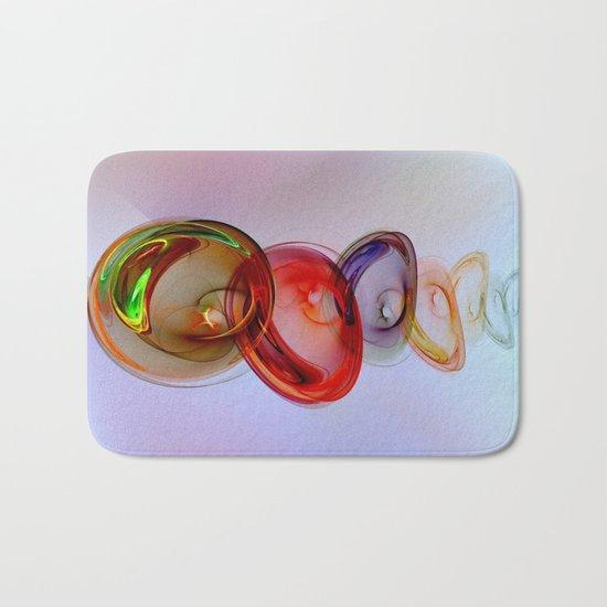 Glass Effect Bath Mat
