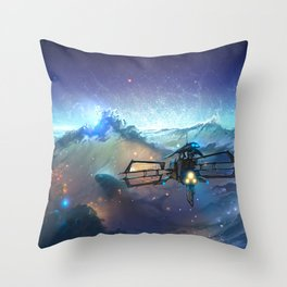 The Sea Of Space Throw Pillow