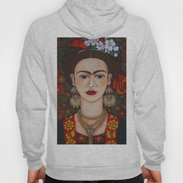 Frida with butterflies Hoody