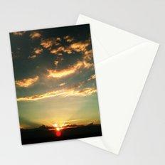 Sunset Blue Stationery Cards