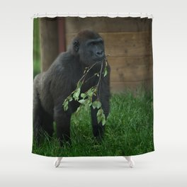 Lope The Gorilla Shower Curtain