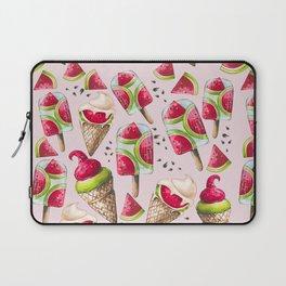 Watermelon Ice Cream Laptop Sleeve