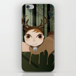 Deery Fairy in the Forest iPhone Skin