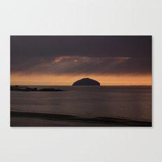 the ailsa craig 2 Canvas Print