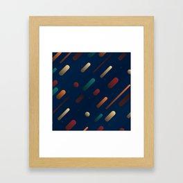 Pattern: Polygone Galaxy Framed Art Print