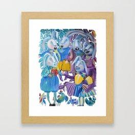 A Cappella Framed Art Print
