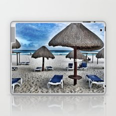 Blue beach Laptop & iPad Skin