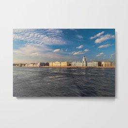 Art Chamber Saint Petersburg Metal Print