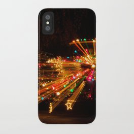 Candy Cane Lane Chevy Truck iPhone Case