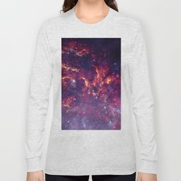 Star Field in Deep Space Long Sleeve T-shirt
