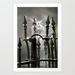 """""""Tangled Webs"""" jjhelene design Art Print"""