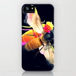 Abeille dark iPhone Case
