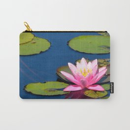 Pink Waterlily by Teresa Thompson Carry-All Pouch