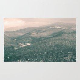 West Virginia Mountains Rug
