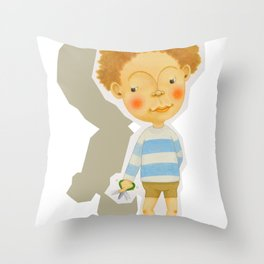 snip snap Throw Pillow