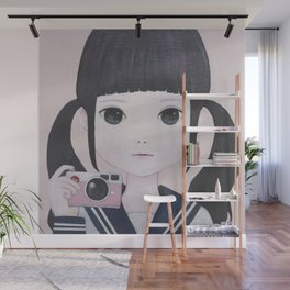 Smile Camera Wall Mural