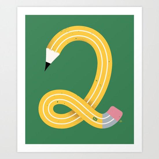 No. 2 Art Print