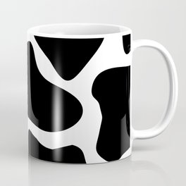 Cow Black and White Pattern Coffee Mug