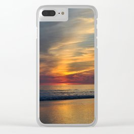 Another Sunset Clear iPhone Case